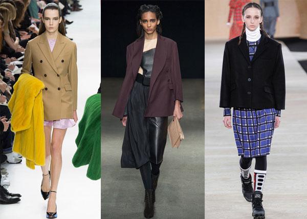 Фото - Модні піджаки в чоловічому стилі осінь-зима 2014/2015