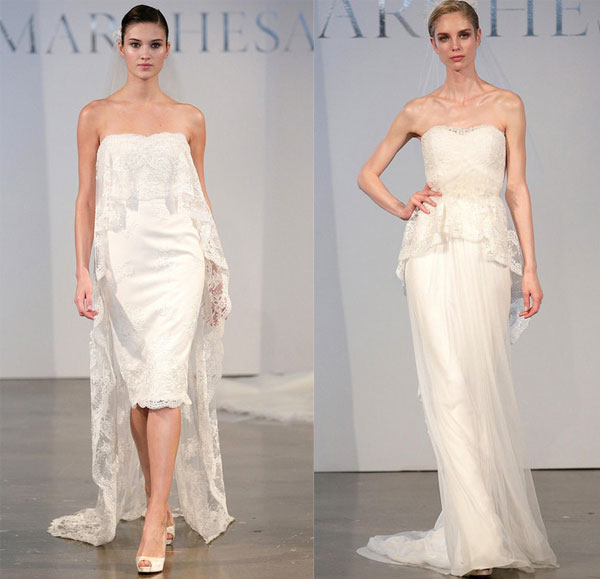Фото - Модні весільні сукні весна-літо 2014 від Marchesa